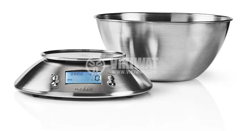 Kitchen scale KASC111SI digital 5kg LCD display temperature sensor - 4