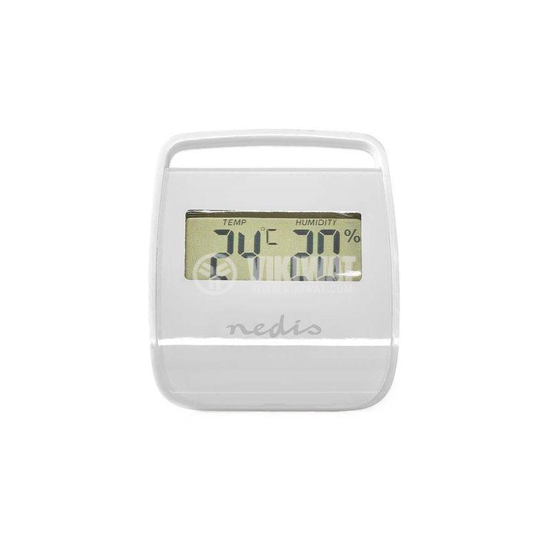Метеостанция WEST100WT вътрешна температура, -10~50°C, дисплей - 1