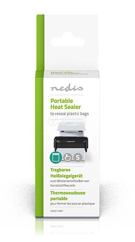Уред за запечатване на торби и пликове KAHS110WT мини 2xAA - 4