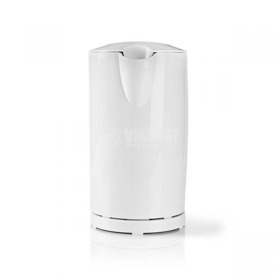 Electric kettle, 2200W, 230VAC, white - 2
