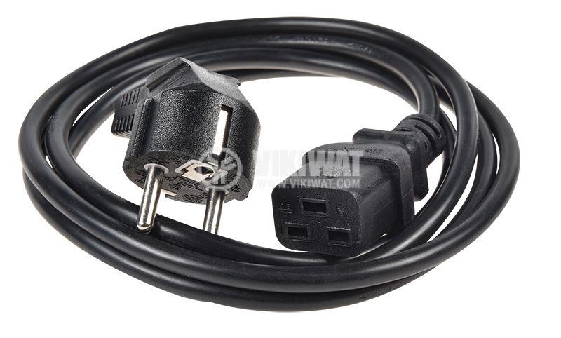 Захранващ кабел шуко-IEC-320-C19 - 2