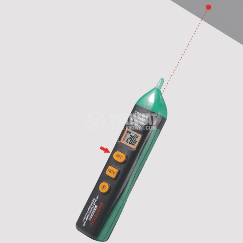 Infrared thermometer MS6580B - 3