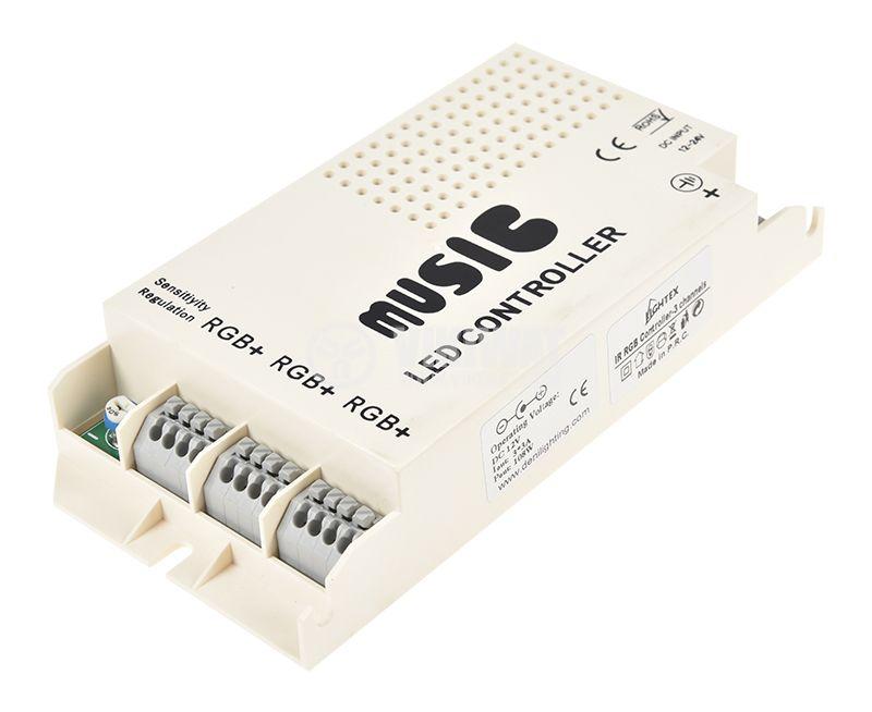 LED RGB звуков контролер - 3