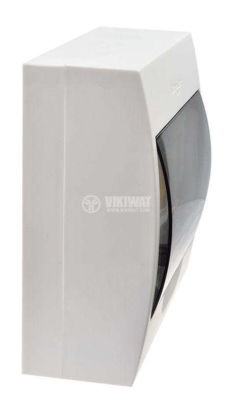 Апартаментно табло, EZ9E108S2S, 8 модула, Easy9, SCHNEIDER, за външен монтаж, бял цвят  - 6