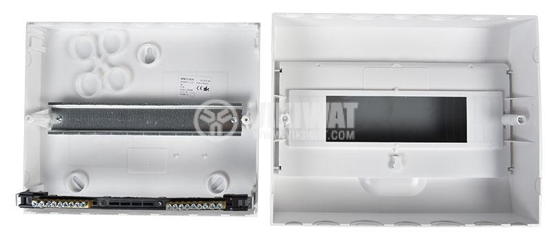 Апартаментно табло, 12 модула, Easy9, SCHNEIDER, за външен монтаж, бял цвят, EZ9E112S2S - 6