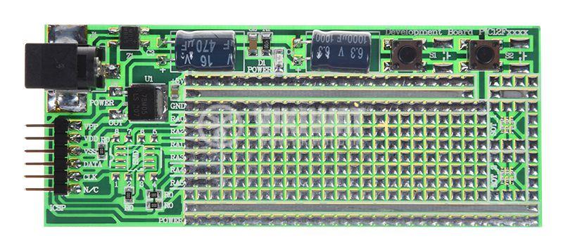 Прототипна платка PIC12Fxxxx, 100x40mm - 1