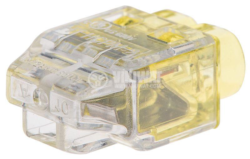 Клема HCPM-2-PC-CL/YE - 2