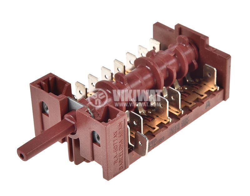 Ключ за фурна 8поз. 16A/250VAC - 1