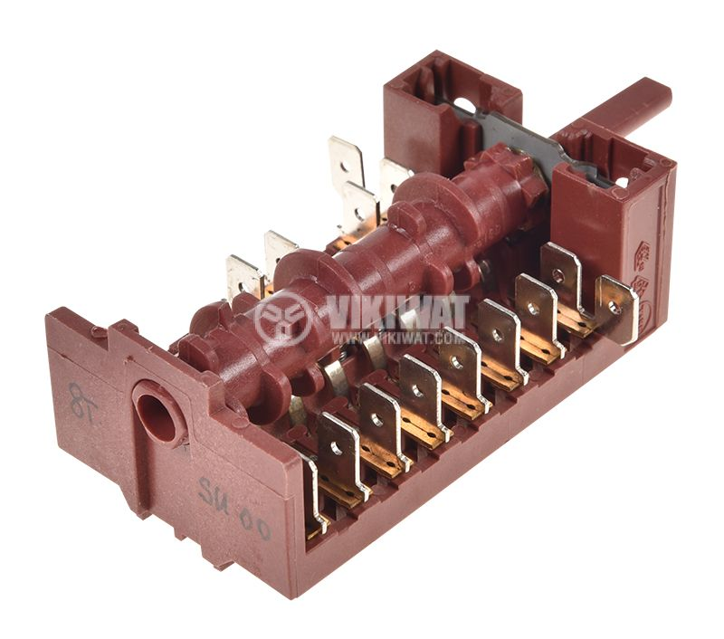 Ключ за фурна 8поз. 16A/250VAC 70KL72172 - 2