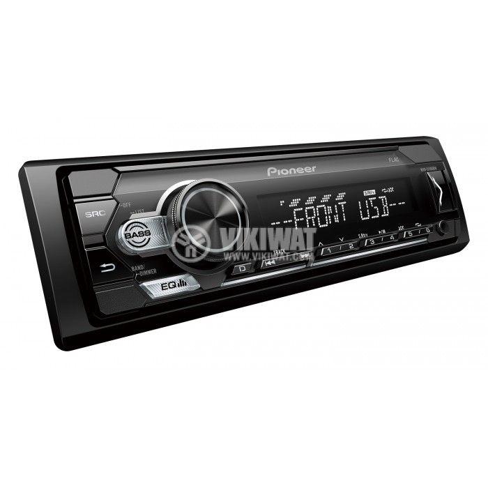 Радио за кола Pioneer MVH-S110UBW 4x50W USB AUX  - 3