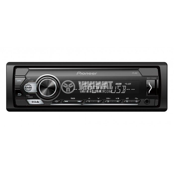 Радио Pioneer MVH-S110UBW 4x50W USB AUX - 1