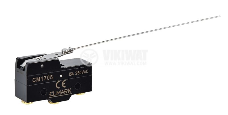 Limit switch CM 1705 15A/250VAC NO+NC with spring return lever - 1