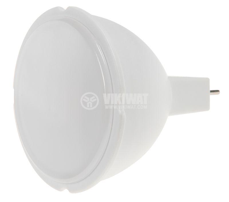 LED лампа 5W, 12VDC, GU5.3, 346lm, студено бялa - 3