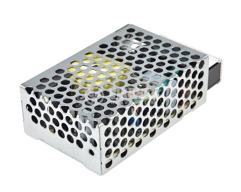 Импулсно захранване 12VDC, 2.1A, 25.2W, IP20, невлагозащитен, RS-25-12 - 1