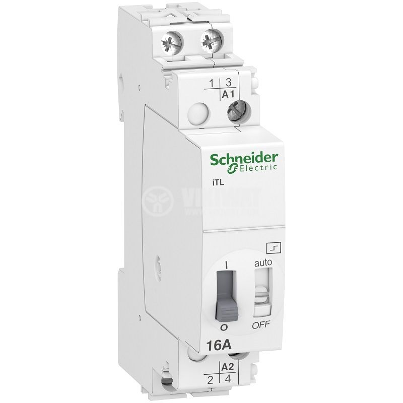Реле импулсно SCHNEIDER A9C30812, 230VAC, 50ms-1s, 16A/250VAC, 2xNO - 1