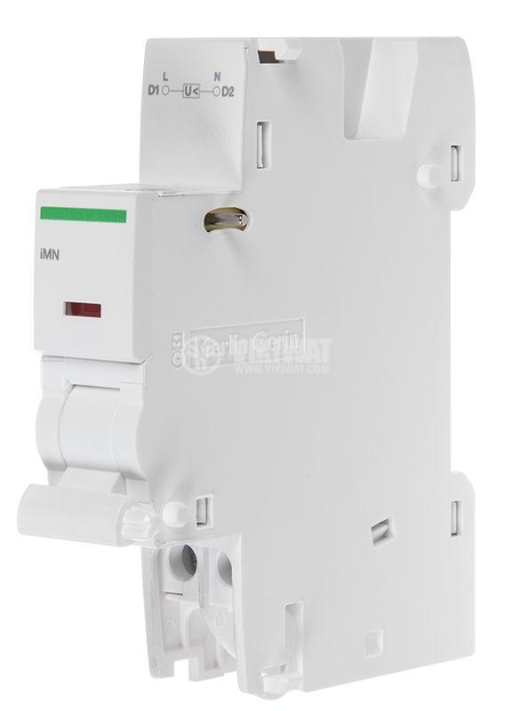 Minimum voltage switch A9A26960, iMN, 220-240VAC, iC60, iID - 1