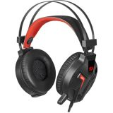 Gaming headset REDRAGON Memecoleous H112,  plug 3.5mm,  build-in microphone,  red/black