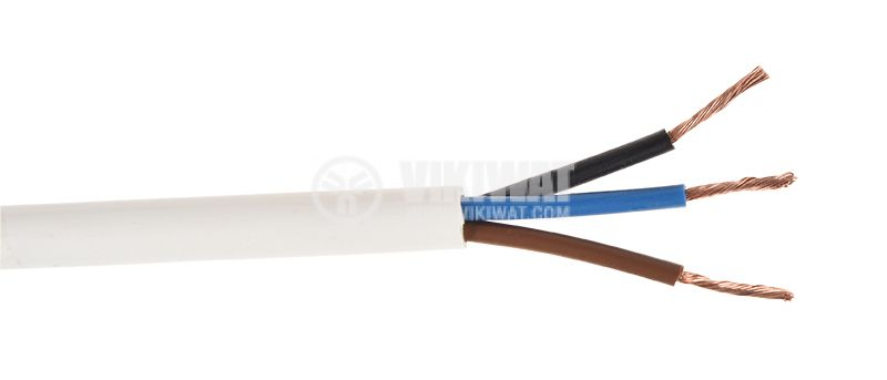 Cable H05VV-F 3x0.75mm2