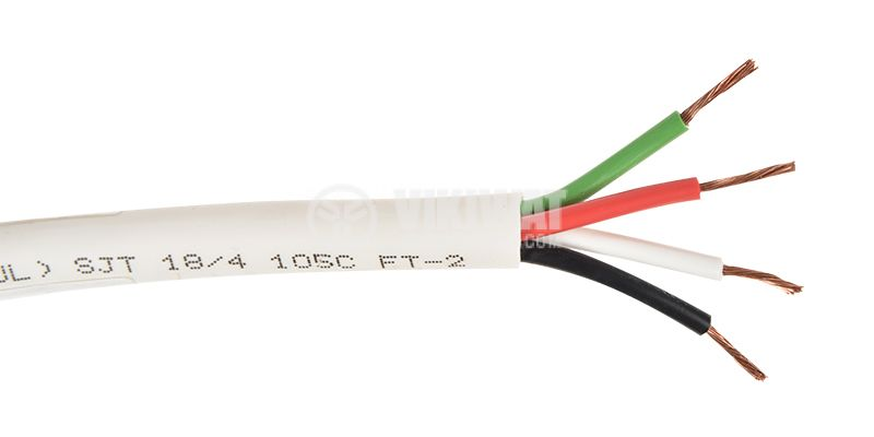 Cable SJT 4x18 AWG UL