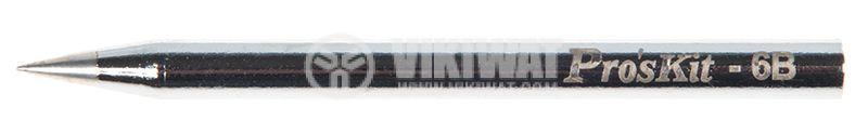 Човка за поялник PKS120-6B, конус, без засечка, ф6x80mm, 0.5mm - 2