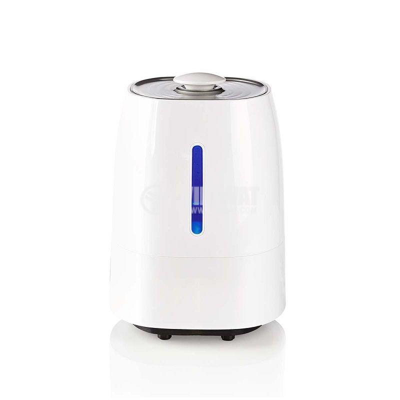 Овлажнител за въздух 5.5l, хигрометър, LED дисплей - 2
