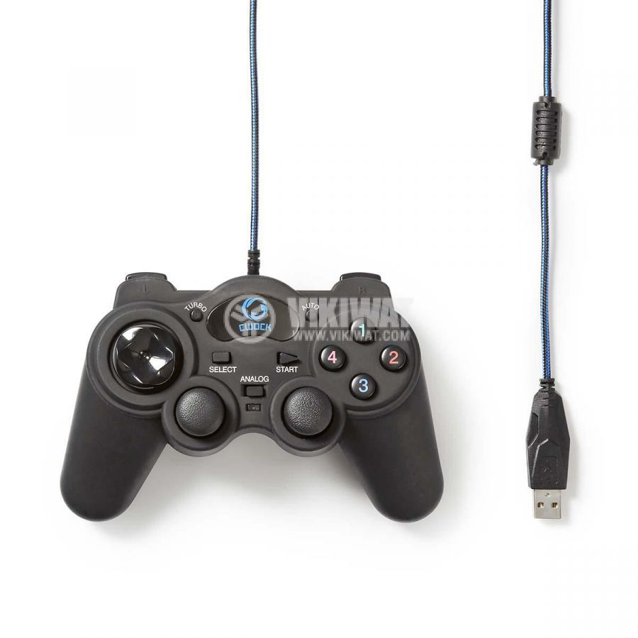 Joystick for PC, 12 buttons, GGPD100BK, USB