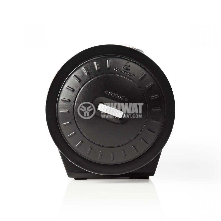 Прожекционен часовник с будилник и радио CLAR005BK - 5