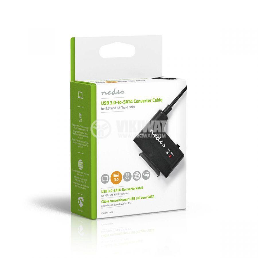 Адаптер за твърд диск, USB 3.0 към SATA - 4