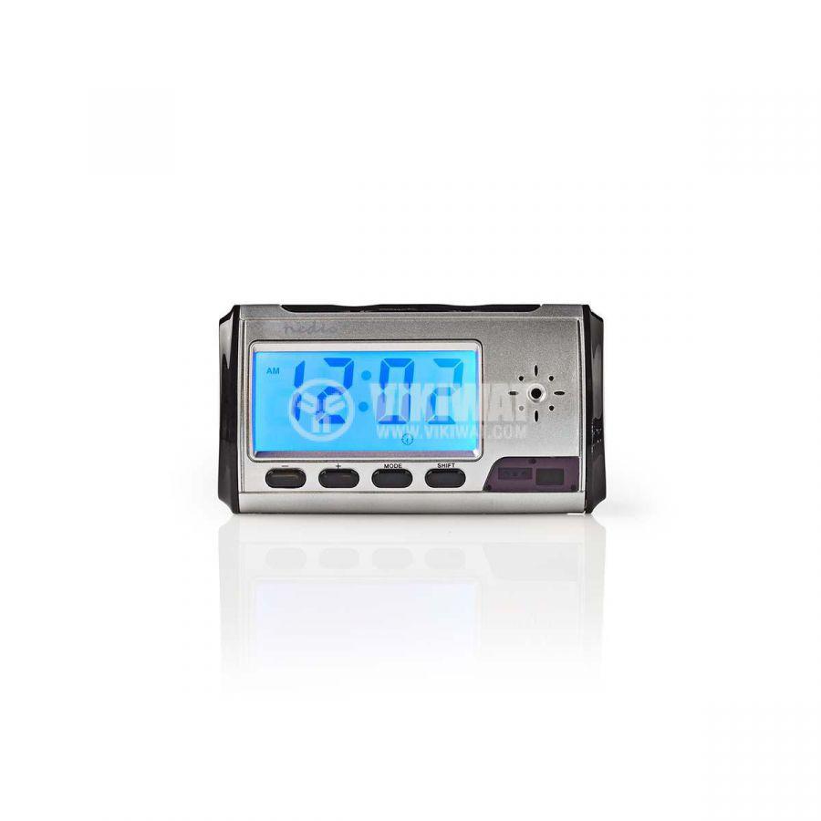 Часовник с камера и запис, SPYCCL10CSR, 720x480p - 2