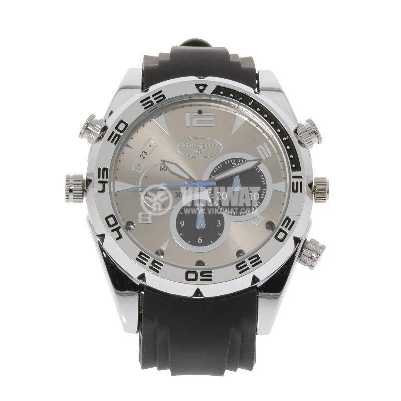 Ръчен часовник с вградена камера, SAS-DVRWW20 - 2