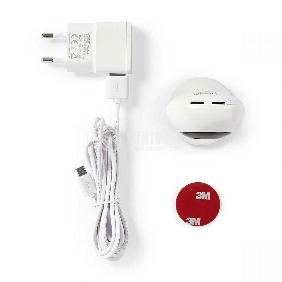 Кaмера за видеонаблюдение NEDIS WiFi Smart IP 1Mpx(1280x720p) 2.5mm IP20 110° - 5
