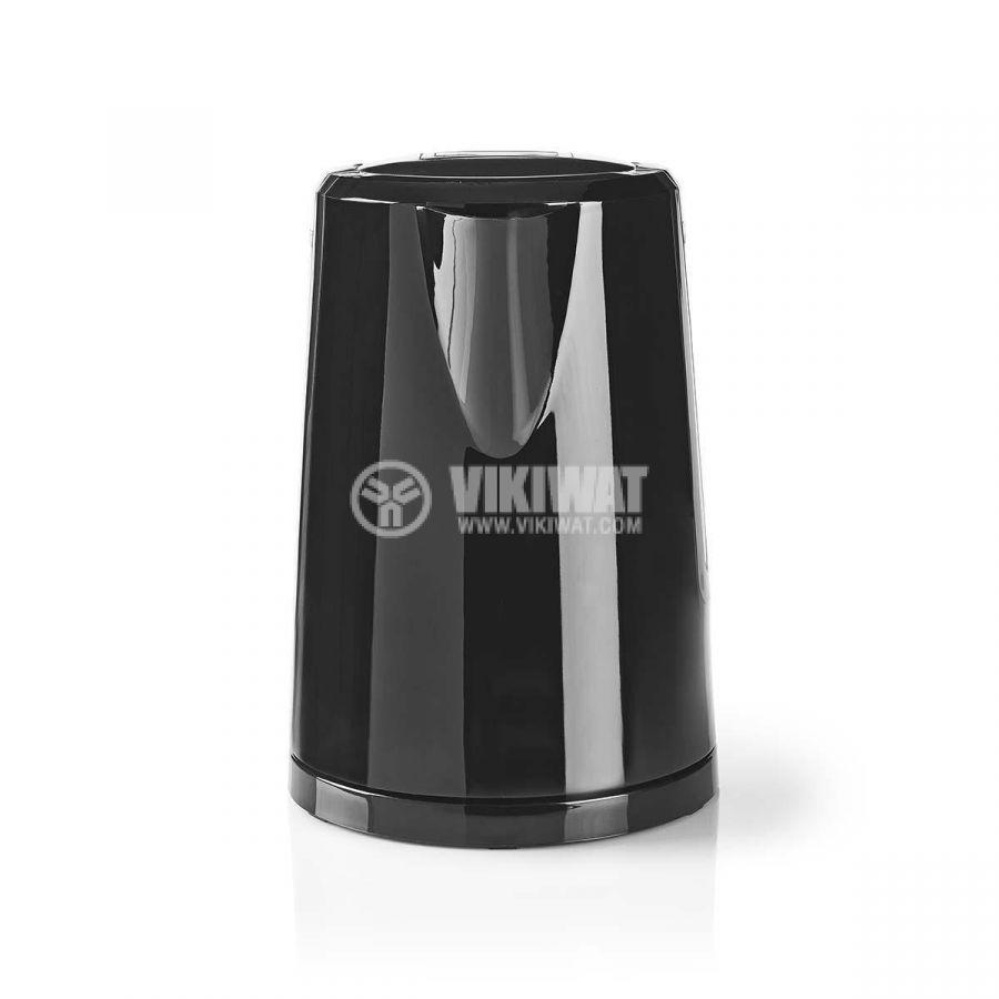 Електрическа кана, 1.7 l, 2200W, черна  - 2