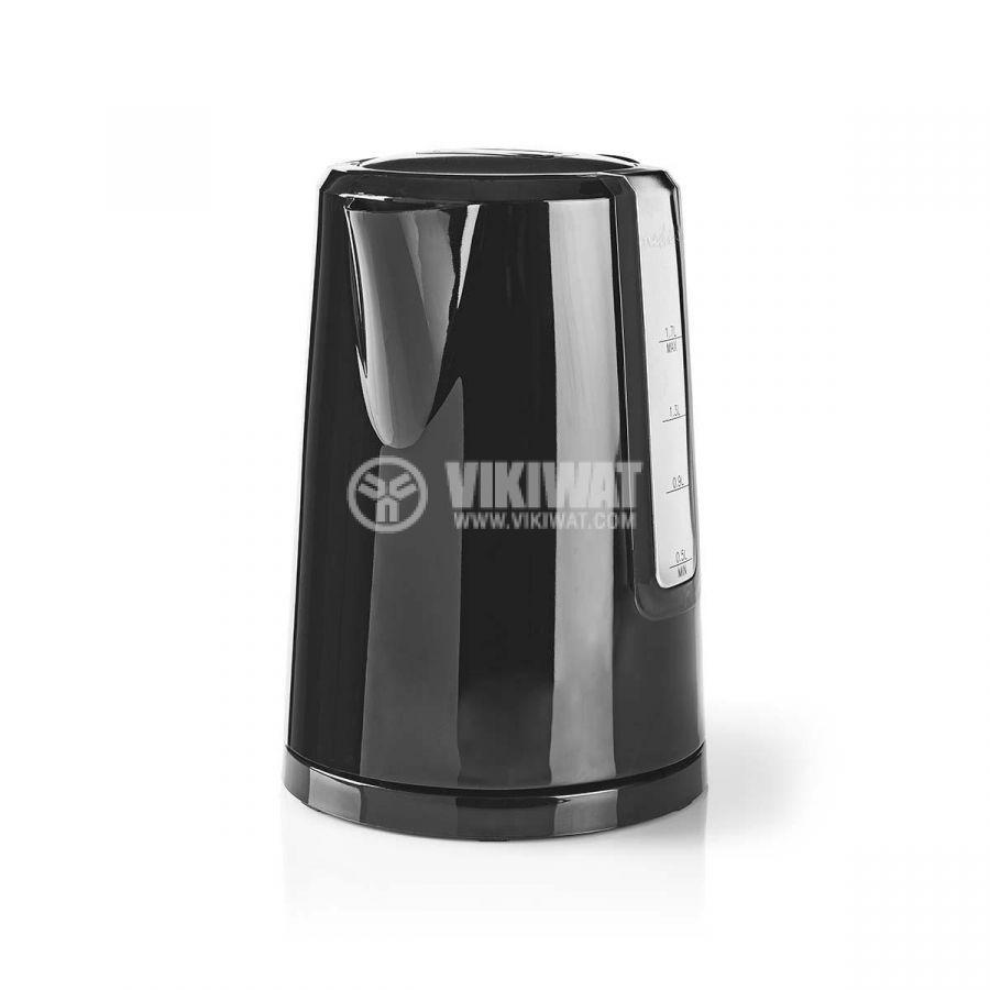 Електрическа кана, 2200W, 230VAC, черна KN-WK10 - 5