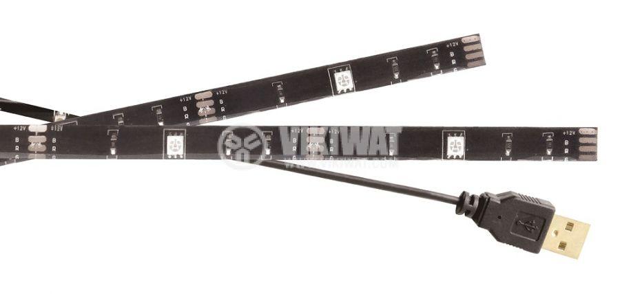 TV RGB Mood Light LED, 60lm, 1000mm, KNM-ML2RGBD - 1