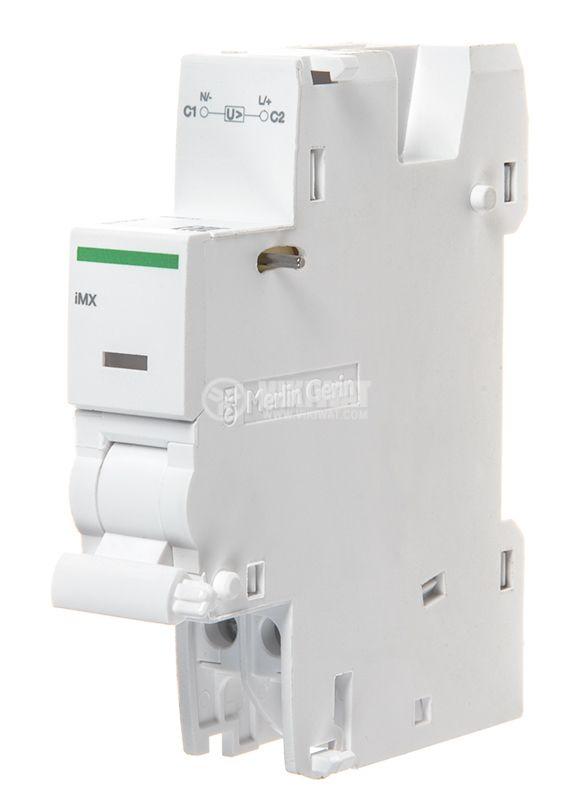 Независим работен изключвател IMX A9A26476, 100-415VAC, 110-130VDC, iC60 - 1