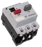 Motor protection circuit breaker (AT00) DZ108-1, three-phase, 8-12.5 A, NO + NC, 6A/380VAC