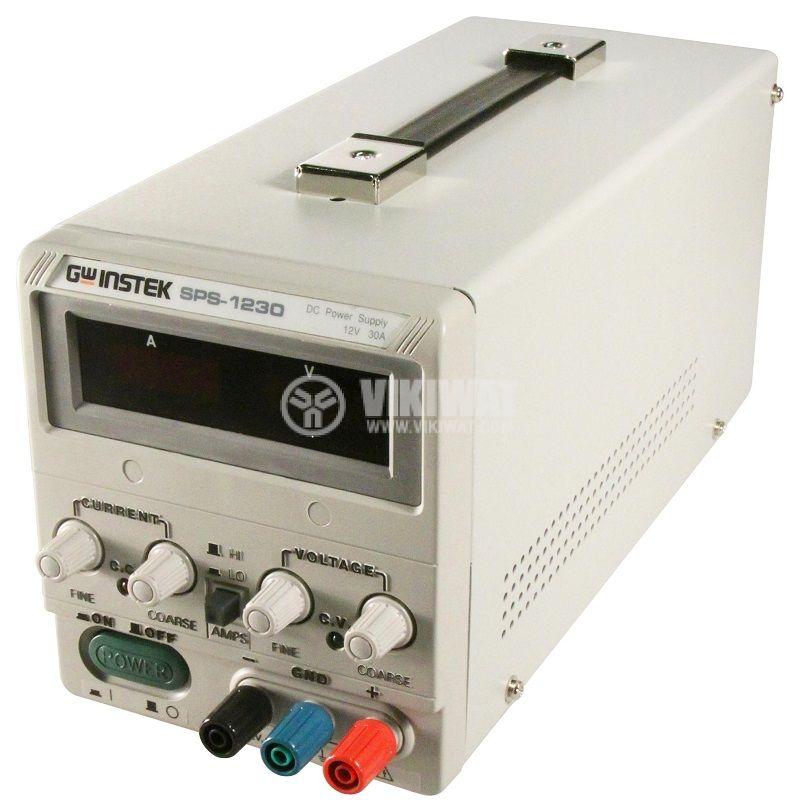 Лабораторно захранване импулсно, SPS-1230, 1 канал, 30A/12VDC