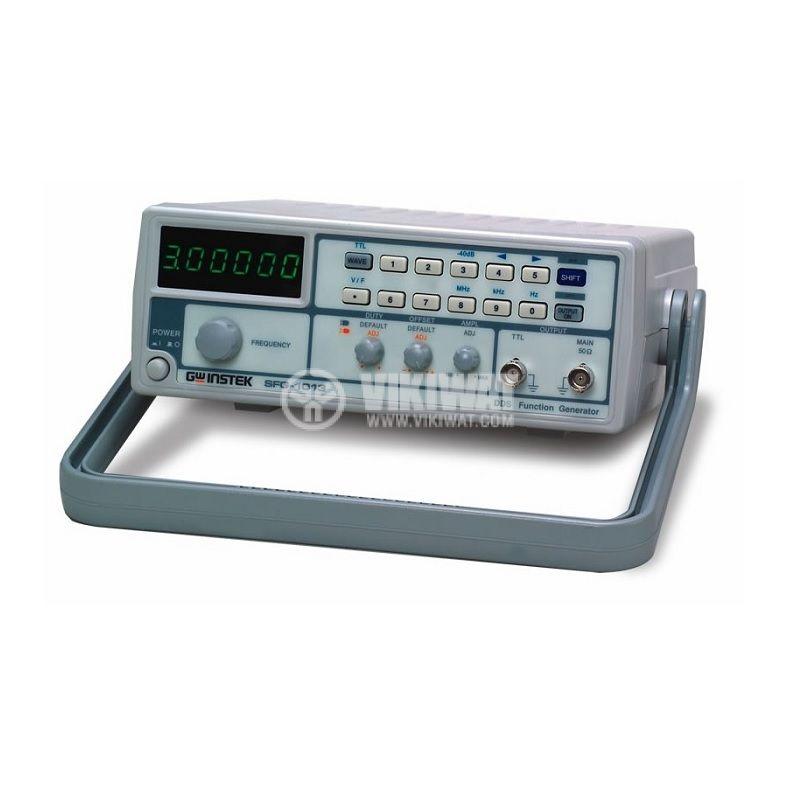 Функционален генератор SFG-1013, цифров (DDS), от 0.1Hz до 3MHz