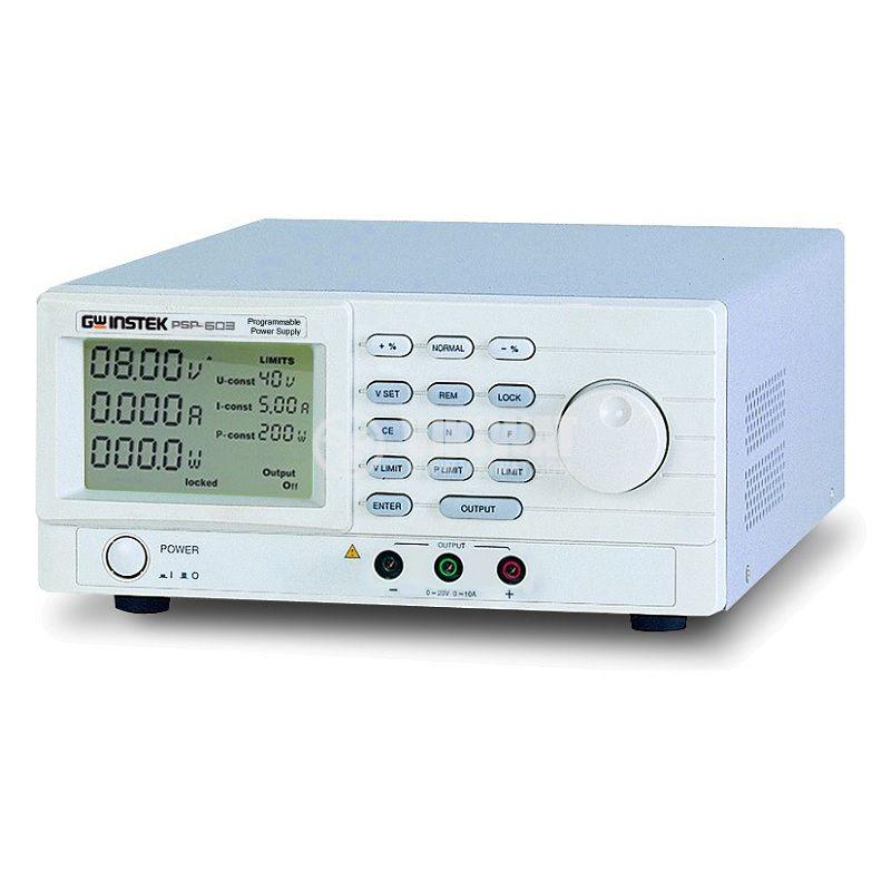 Програмируемо лабораторно захранване, импулсно, PSP-603, 1 канал, 3.5A/60VDC