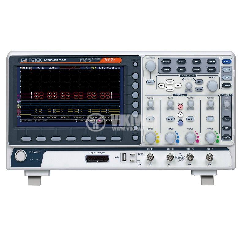 Осцилоскоп MSO-2204E 200MHz 4 канала - 1