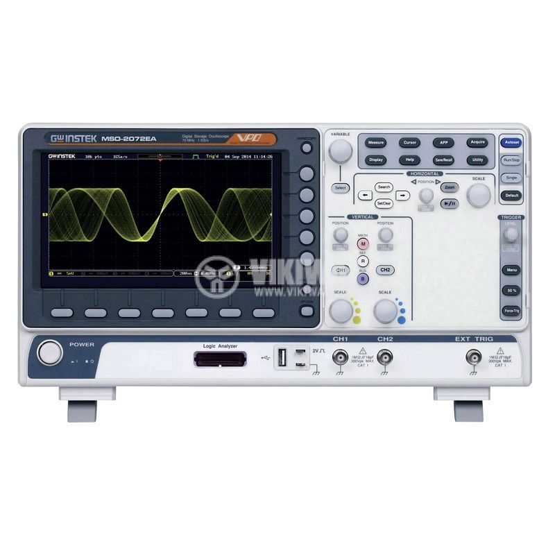 Oscilloscope MSO-2072EA, 70MHz, 1GSa/s, 2 channels - 1