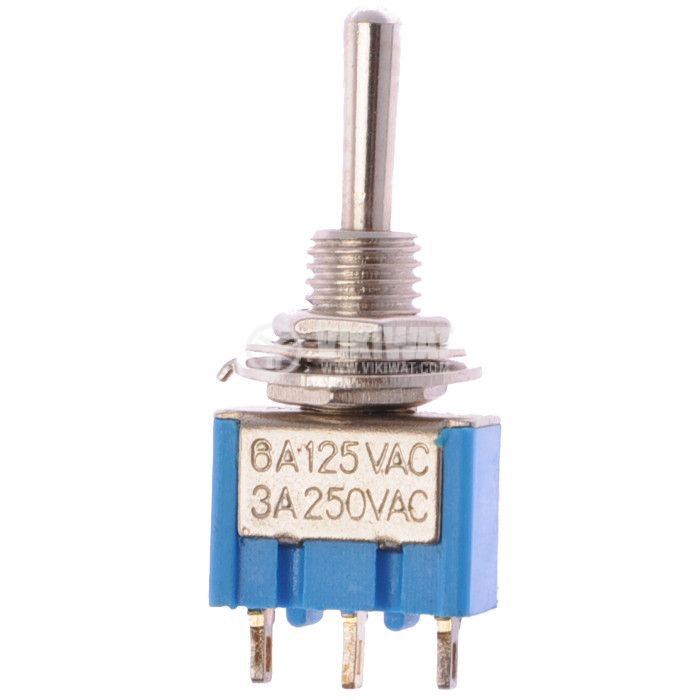 Toggle Switch MTS-103 3А/250V 6А/125VAC ON-OFF-ON SPDT