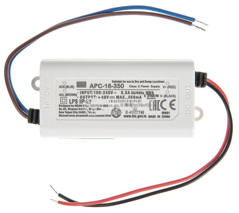 LED токов драйвер APC-16-350 - 1