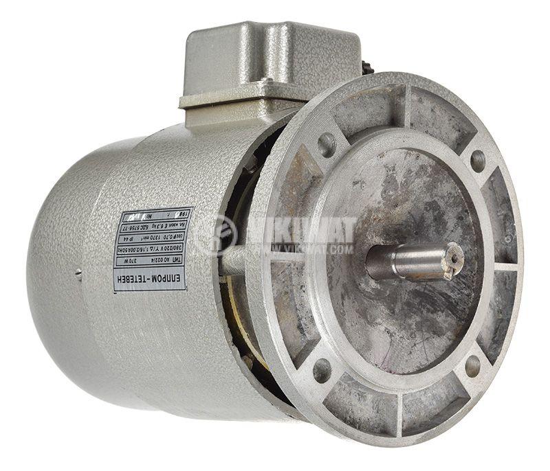 Електродвигател, променливотоков, трифазен, 220-380V, 370W, 1370rpm, AO 022/4 - 1