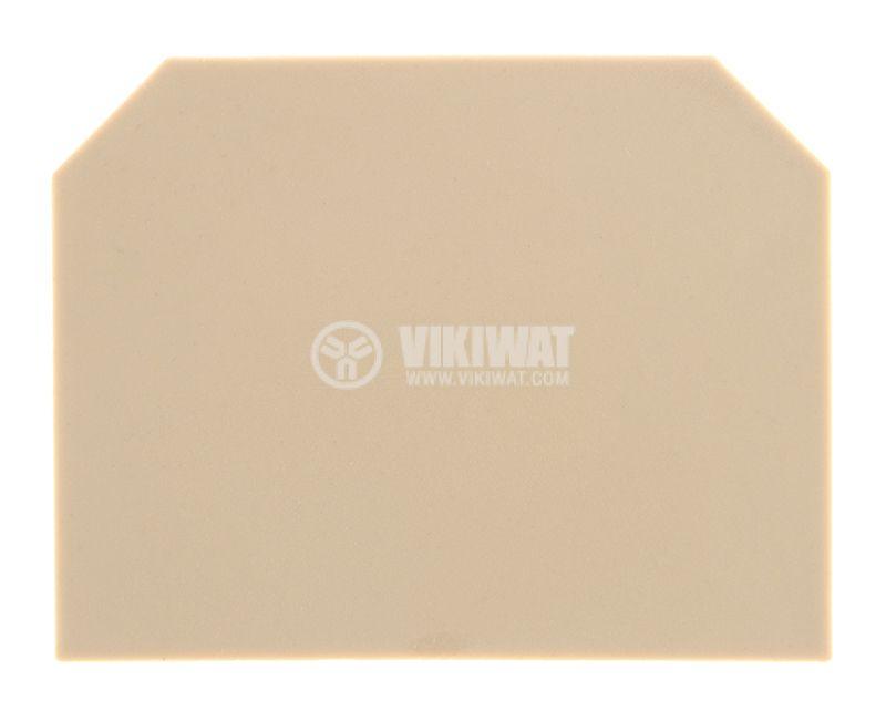 Terminal block separator plate - 1
