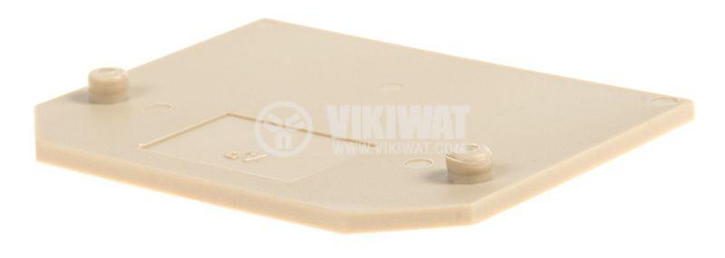 Terminal block separator plate - 3