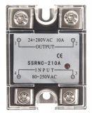 Солид стейт реле SSRNC-210A, монофазно, полупроводниково, 80~250VAC, 10A, 24~280V