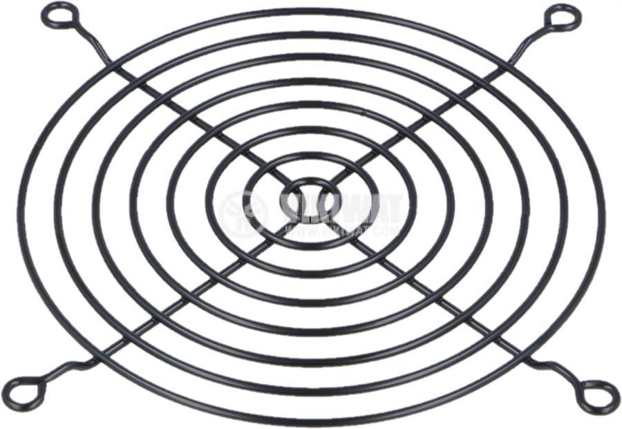 Решетка за вентилатор FB-12-BK 120x120 черна