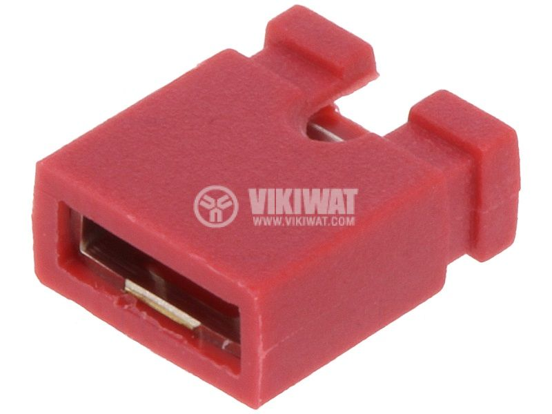 Connector jumper transition 2.54mm raster red