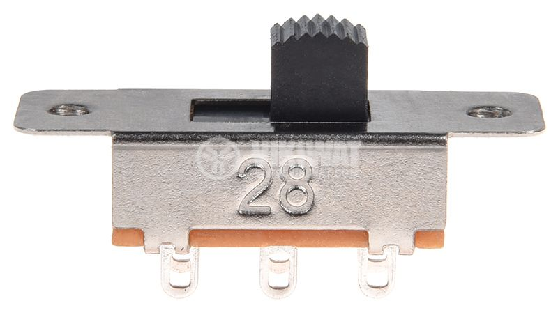 Switch 2 positions 1A/24V DPDT ON-ON with a screw - 1